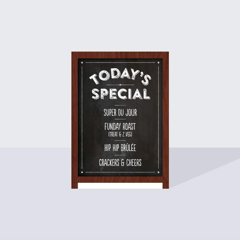 Today's Special A6 Card