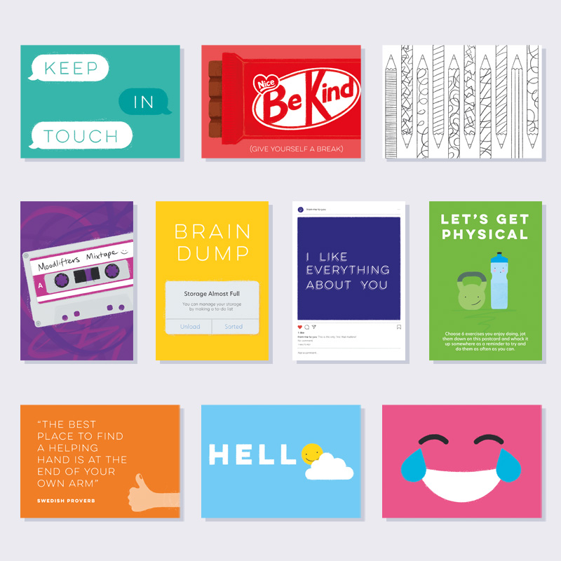 Positivity Postcards Pack (Includes Free Postage)