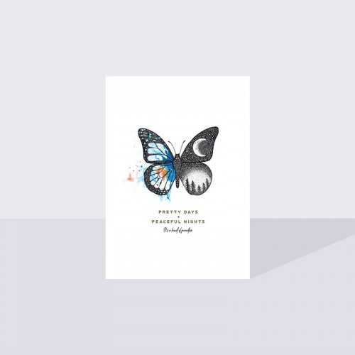 Limited Edition A3 Butterfly Print