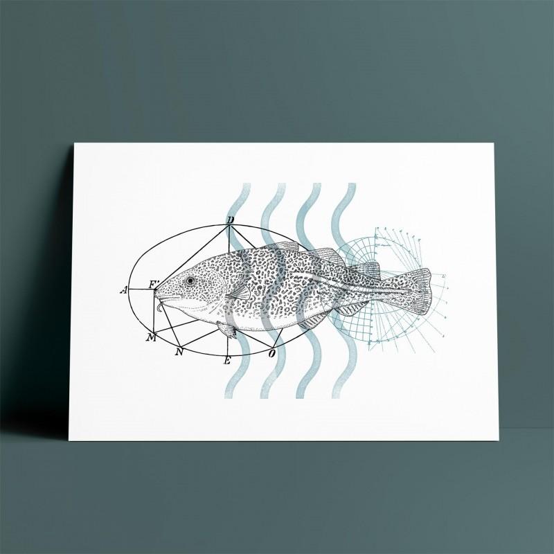 Fish A5 Print